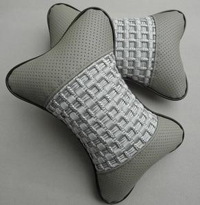 Image 1 - Car seat head cushion Car headrest neck headrest Car Danny leather auto Seat Cover Car Cushion
