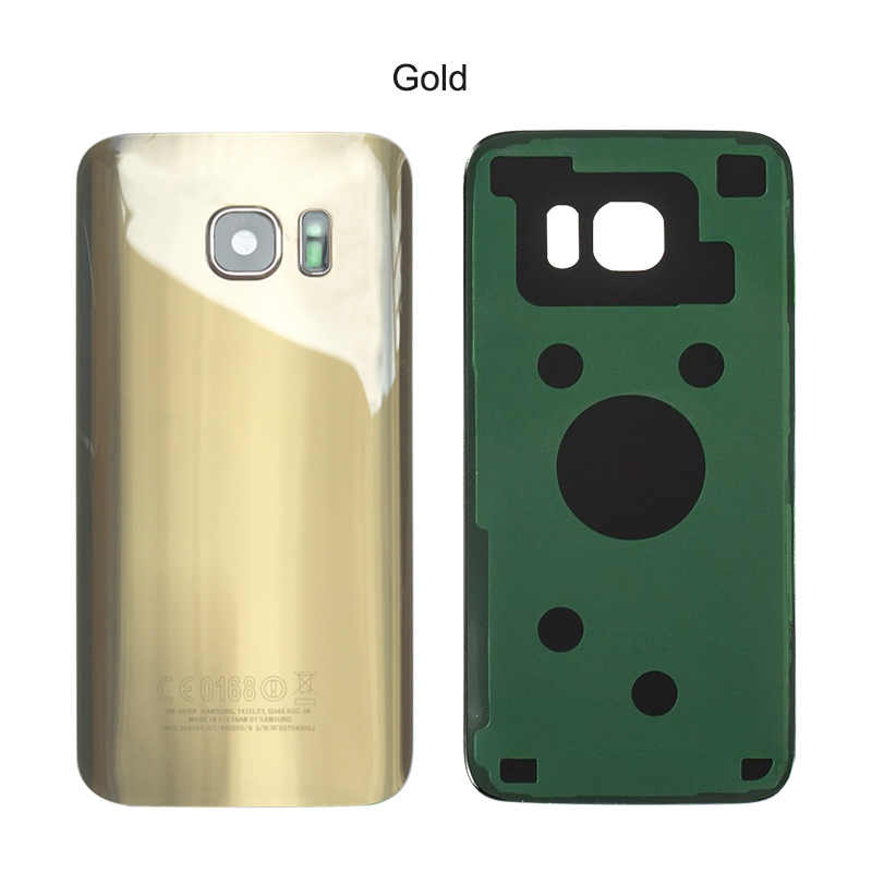 Aliexpress.com : Buy New Glass Battery Back Covers Housing For SAMSUNG  Galaxy S7 EDGE G930F G935F Back Glass Door Rear Case Spare Replacement  Parts From ...