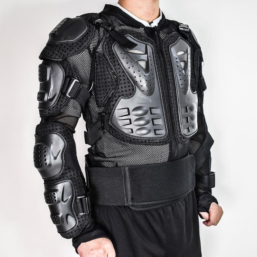 WOSAWE veste de moto poitrine armure soutien arrière Motocross protecteur course Motocross Protection Gear moto tortue