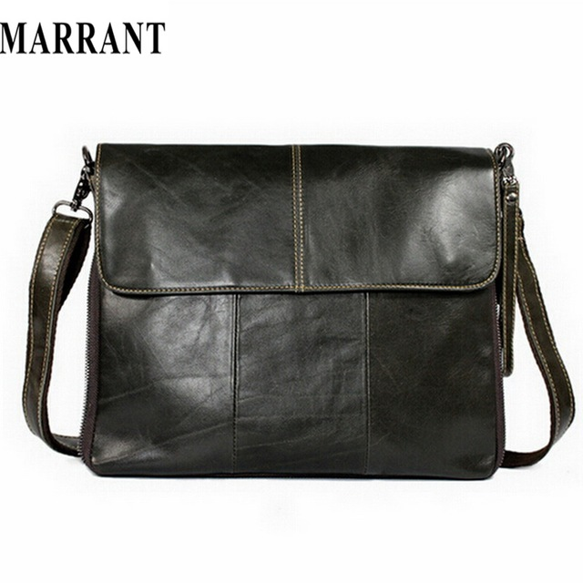 MARRANT Genuine Leather bag Men Bags Messenger casual Men's travel bag leather clutch crossbody bags shoulder Handbags 2017 NEW
