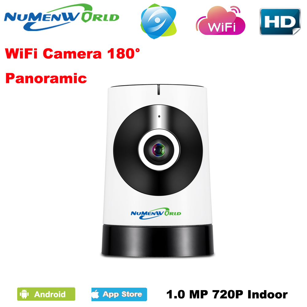 180 degree panoramic fish eye lens ip camera wifi wireless. Black Bedroom Furniture Sets. Home Design Ideas