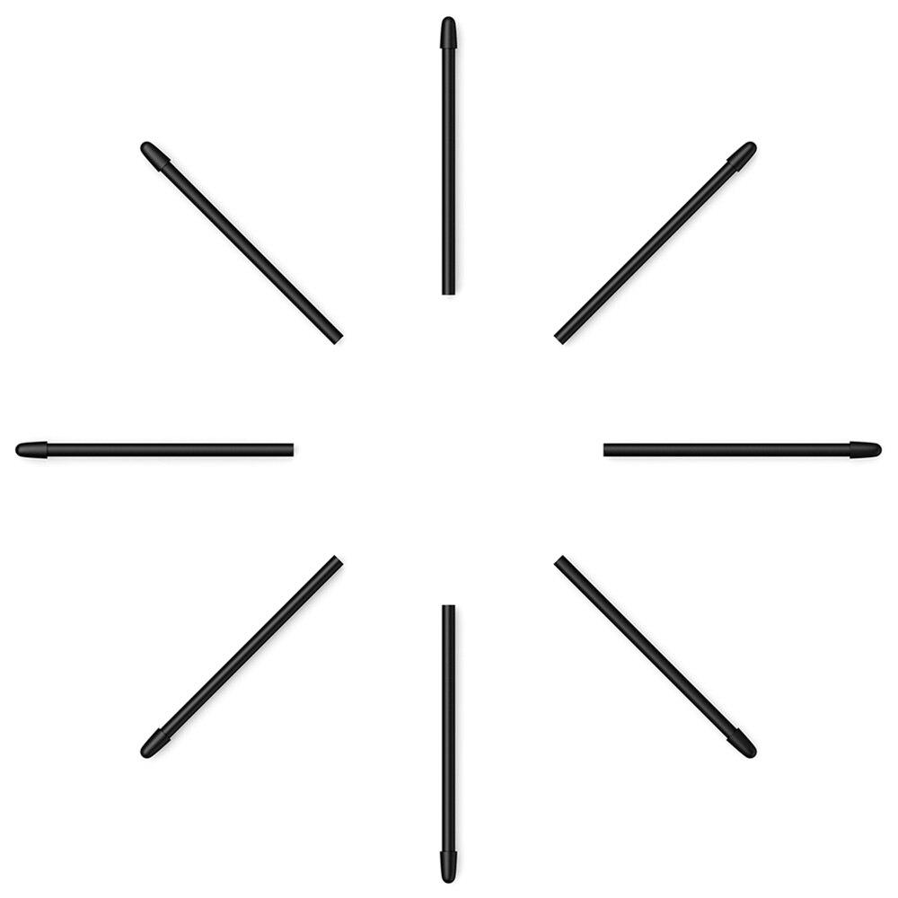 XP-Stift Standard schreibfedern für P06 Stift Ersatz Schreibfedern 50 Stück (Schwarz) für XP-Stift DECO02, Artist12, StarG960