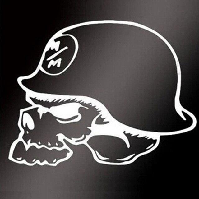 Cm Personalized Helmet Skeleton Car Stickers Motorcycle - Motorcycle helmet designs stickers