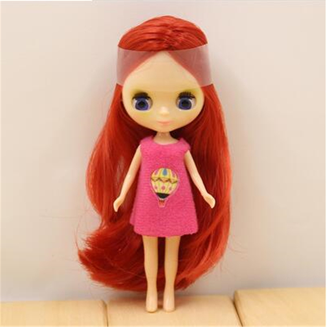Factory Blyth Doll Mini Blyth Nude Doll 10CM 10 Different Styles Different Color Random For One Clothe
