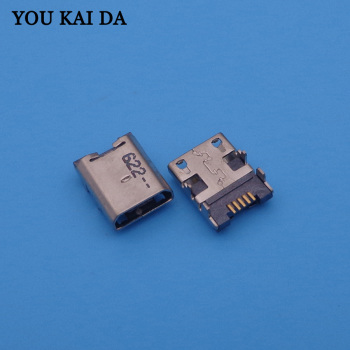 10pcs/lot for Amazon Kindle Fire HD 6 tablet micro USB jack socket connector charger charging port replacement repair dock plug