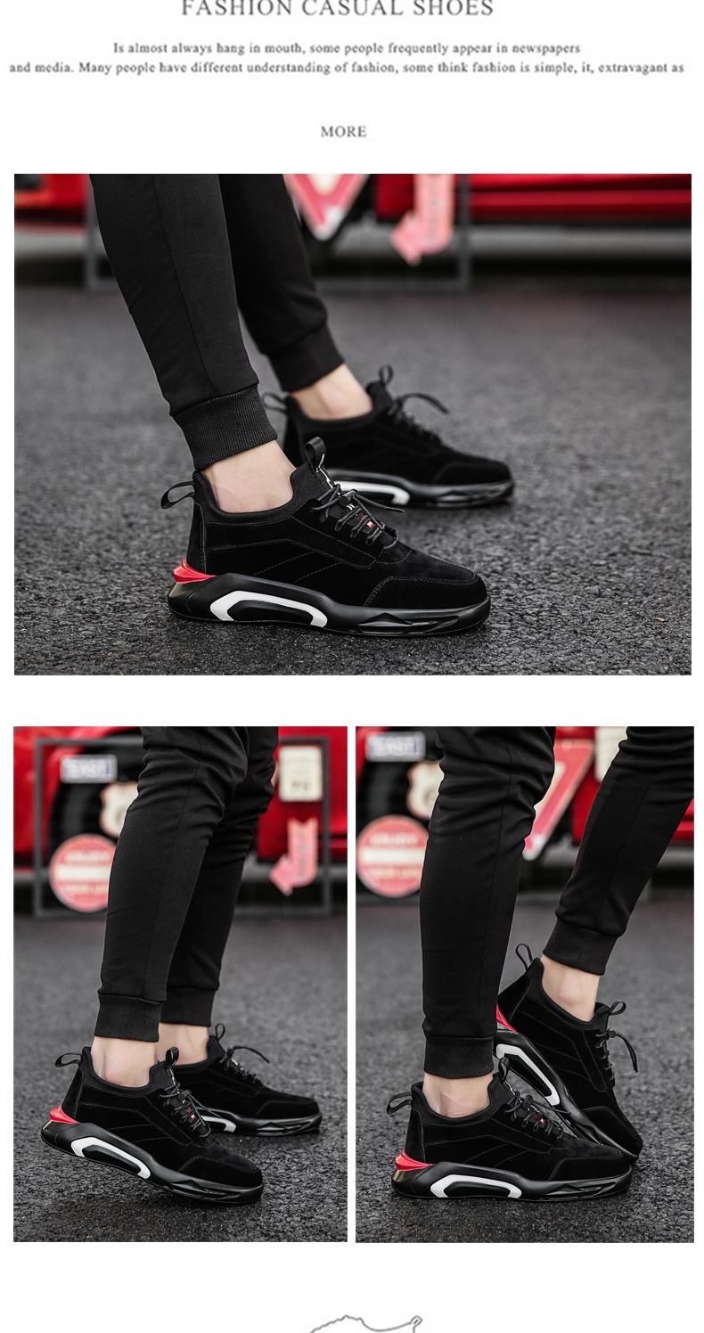 2018 Spring/Autumn Men's Vulcanize Shoes Fashion Sneakers Men Casual Shoes Flats Men Shoes Chaussure Homme Designer Sneakers 18
