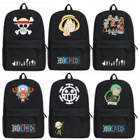 HOLRAN Backpacks Unisex School Backpack for Teenager ONE PIECE Monkey D. Luffy Mochila Personality Laptop Bagpack Travel Bag
