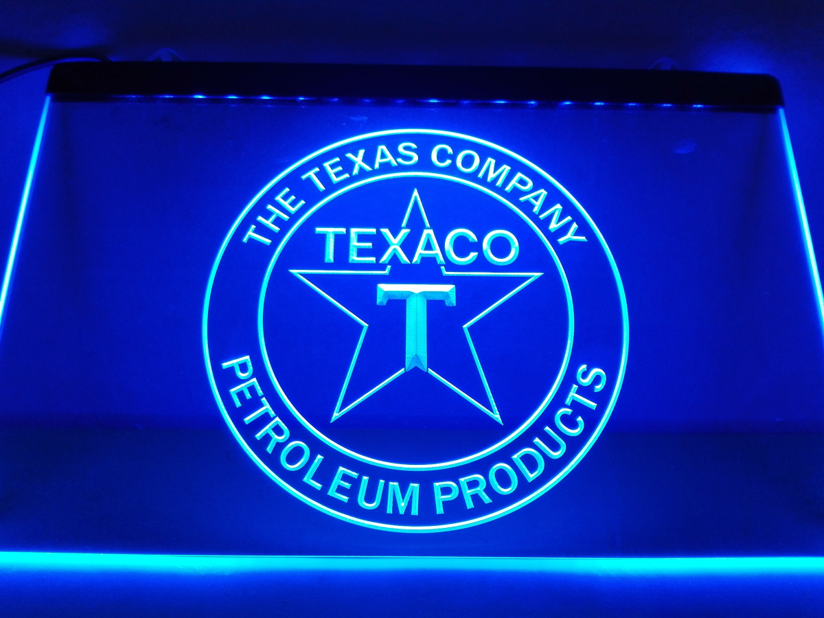 LG122 TEXACO PORCELAIN GAS PUMP Bar LED Neon Light Sign home decor  crafts-in Plaques & Signs from Home & Garden on Aliexpress com | Alibaba  Group