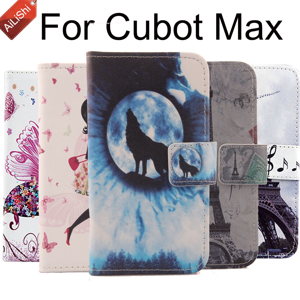 Hot Sale Fashion PU Protective Cover Skin For Cubot Max Wallet Flip Cute Leather Case Max Cubot Case In Stock