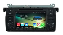 Quad Core HD 1024*600 Android 5.1 Car DVD Player GPS for BMW 3 Series E46 M3 with Canbus Radio BT Wifi Mirror-link