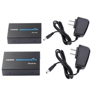 120M HDMI Extender IR over Cat5/Cat6 Rj45 LAN Ethernet Cable Support 1080p HDMI Transmitter Receiver TX RX