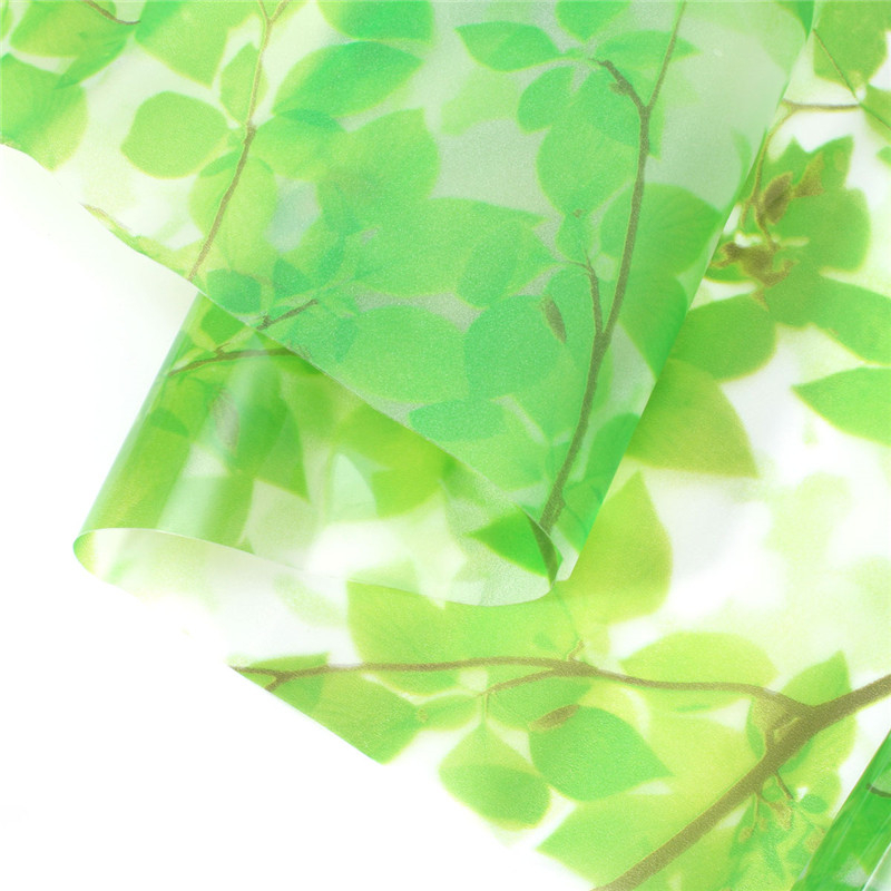 Green Leaves Window Film