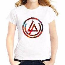 Linkin Park Chester Bennington t shirt women JOLLYPEACH brand new Tees shirt femme WHITE casual tshirt Short Sleeve T-Shirts