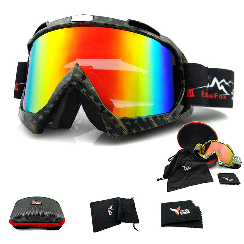 BHWYFC UV400 gafas de Esquí Gafas de Nieve Gafas de Esquí Para Niños Anti-Vaho G