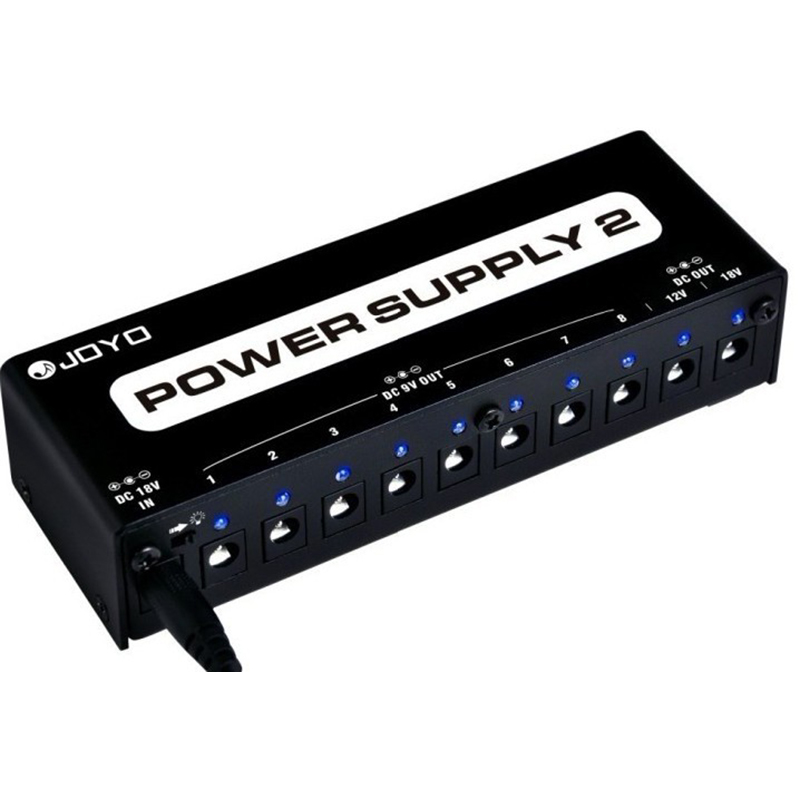 JP-02 Power Supply 2 JOYO For 9V/12V/18V Guitar Effects Pedal Power Supply JOYO JP02 Guitar Accessories