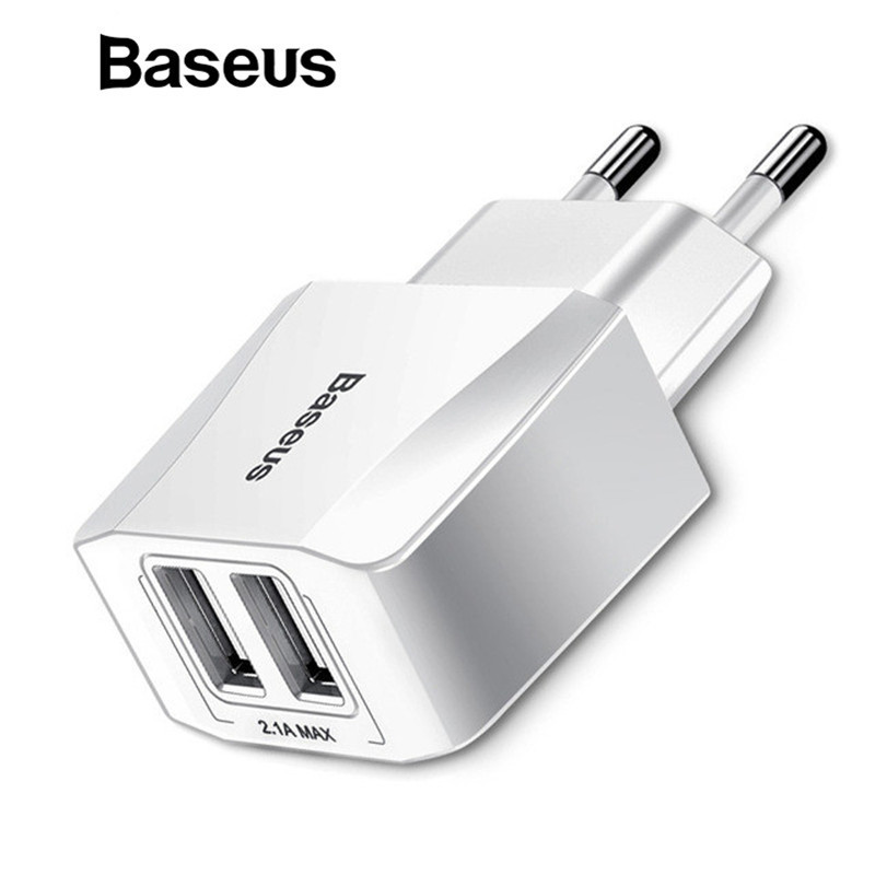 Aliexpress Com Buy Baseus Dual Usb Charger Mobile Phone