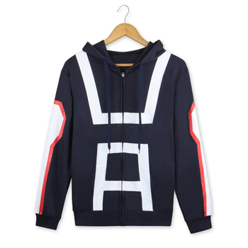 My Hero Academia Hooded Jacket Todoroki Shoto Hoodie Cosplay Costume Boku no Hero Academia Men Women Casual Sweatshirt pajamas