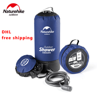 Naturehike 11L Outdoor Washing Shower Water Bag Folding PVC Portable Shower Bag For Hiking Camping BBQ