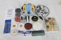Mini Bench Lathe Jade Engraving Machine Electric Grinder Polisher Driller Cutterbar Dremel Tools 350w 2700 R/Min