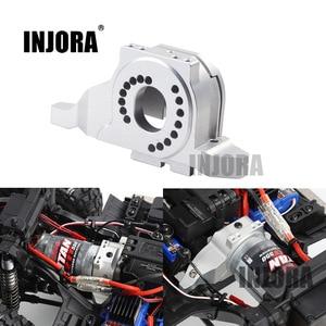 Image 1 - INJORA سبائك الألومنيوم جهاز تثبيت المحرك بالوعة الحرارة ل 1/10 RC الزاحف Traxxas TRX 4 المدافع TRX4 برونكو #8290
