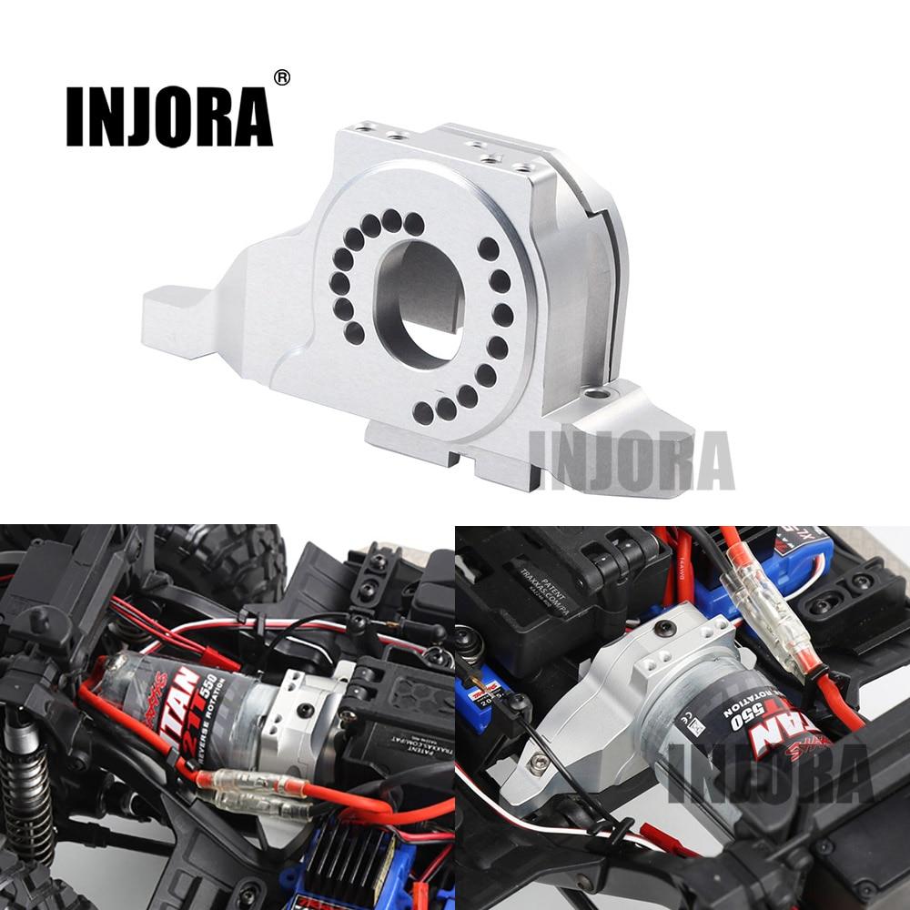 INJORA 7075 montaje de Motor de aleación de aluminio disipador de calor para 1/10 RC Crawler Traxxas TRX4 TRX-4 #8290