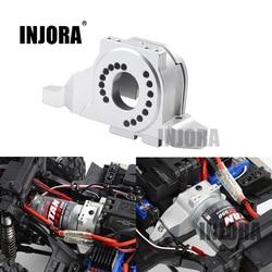 INJORA Aluminum Alloy Motor Mount Heat Sink for 1/10 RC Crawler Traxxas TRX-4 Defender TRX4 Bronco #8290