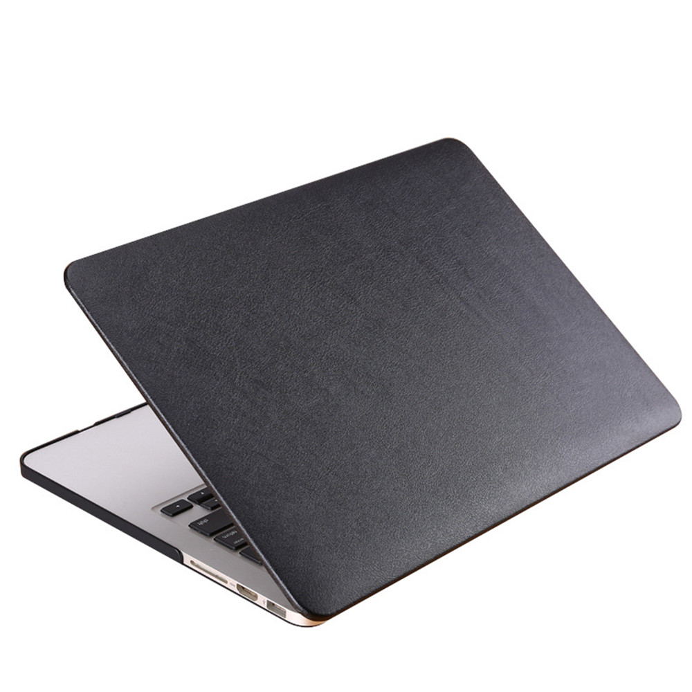 Fashion Laptop Case for Macbook Air Pro Retina 11 13 15 inch Soft PU Leather Surface Computer Shell Exquisite Protector Conque