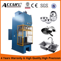25 Ton Automatic C Frame Hydraulic Press With Multi Station Rotary Index Table