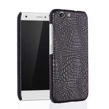 For ZTE Blade A512 case crocodile pattern PU skin leather Luxury business phone cover coque capa