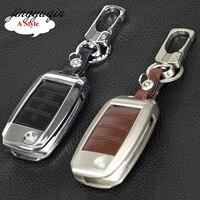 Jingyuqin Car Key Fob Cover For Kia Sportage R K2 K3 K4 K5 Ceed Sorento Cerato