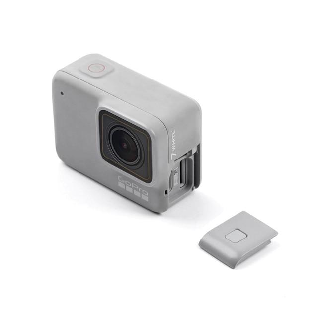 Replacement Side Door for GoPro Hero 7 white Edition USB C Micro HDMI Door Waterproof Protective Repair Parts Accessories