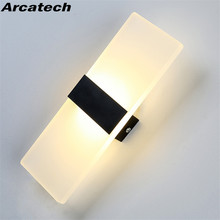 12W LED Wall Lights Indoor Living Room Wall Lamp Modern Acrylic Decorative Wall Lighting for Bedroom Corridor Stairs NR-158