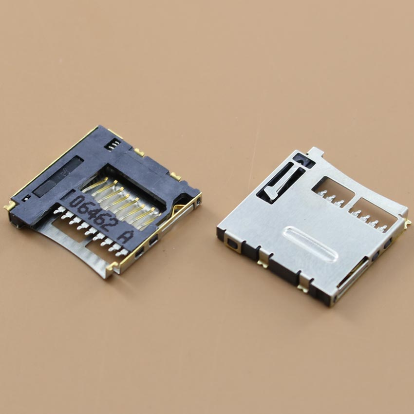 YuXi Micro SD card+TF card reader holder connector for mobile phone.