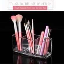 Makeup Organizers Makeup Brush Eyeliner Eyebrow Pencil Holder Cosmetic Storage Case Nail Polish Lipstick Frame Lippie