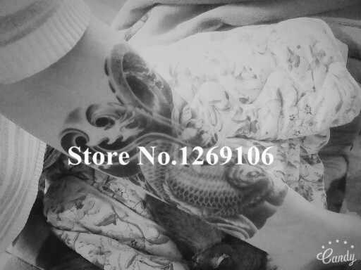 Sexy Oriental carpe beauté maquillage corps Art 3D étanche temporaire exotique tatouage autocollants