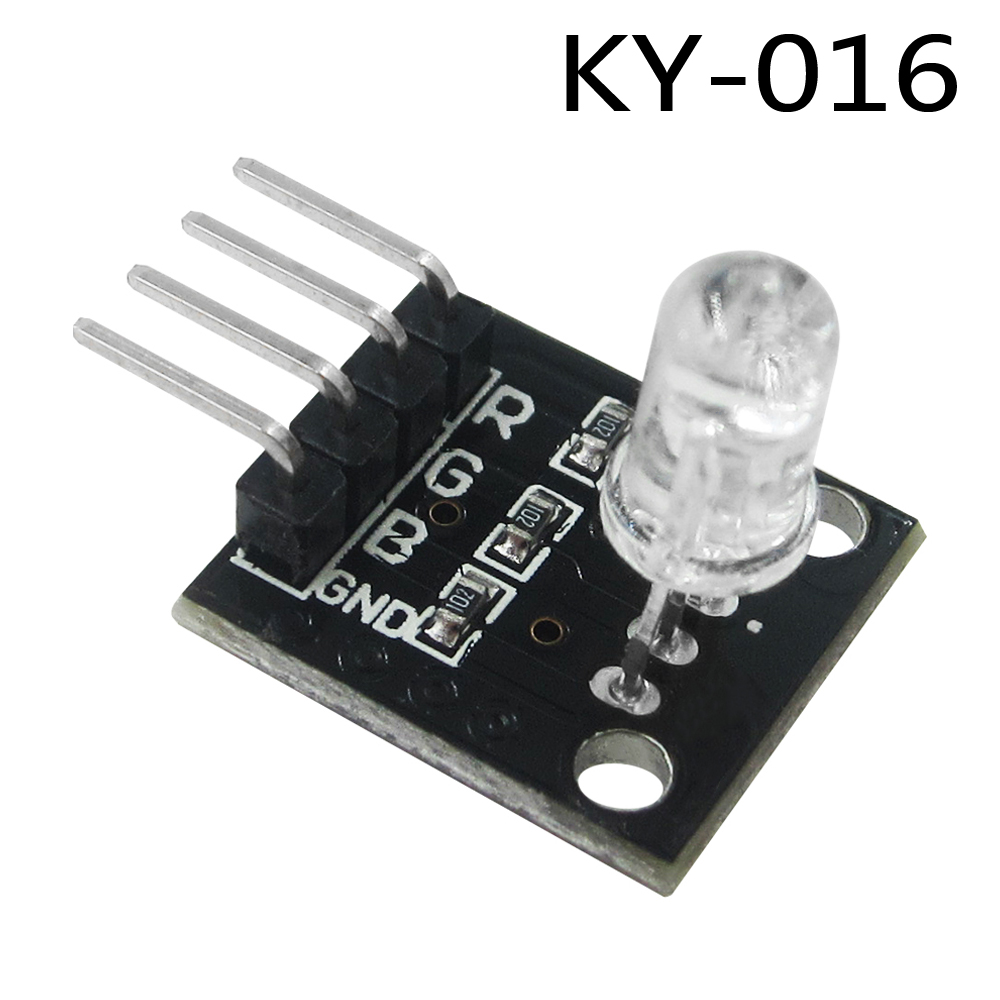 Electronic Components & Supplies Active Components 50pcs Electronics 4pin Rgb Module Ky-016 Three Colors 3 Color Rgb Led Sensor Module For Arduino Diy Starter Kit Ky016 Special Buy