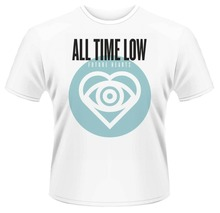 Cheap Mens Graphic Tees All Time Low 'Future Hearts' Short Sleeve Top O-Neck T Shirt For Men цена