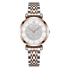 Relogio Feminino VINOCE Women Watches Waterproof Top Brand Luxury Watch with Gold Silver Steel Relojes Para Mujer