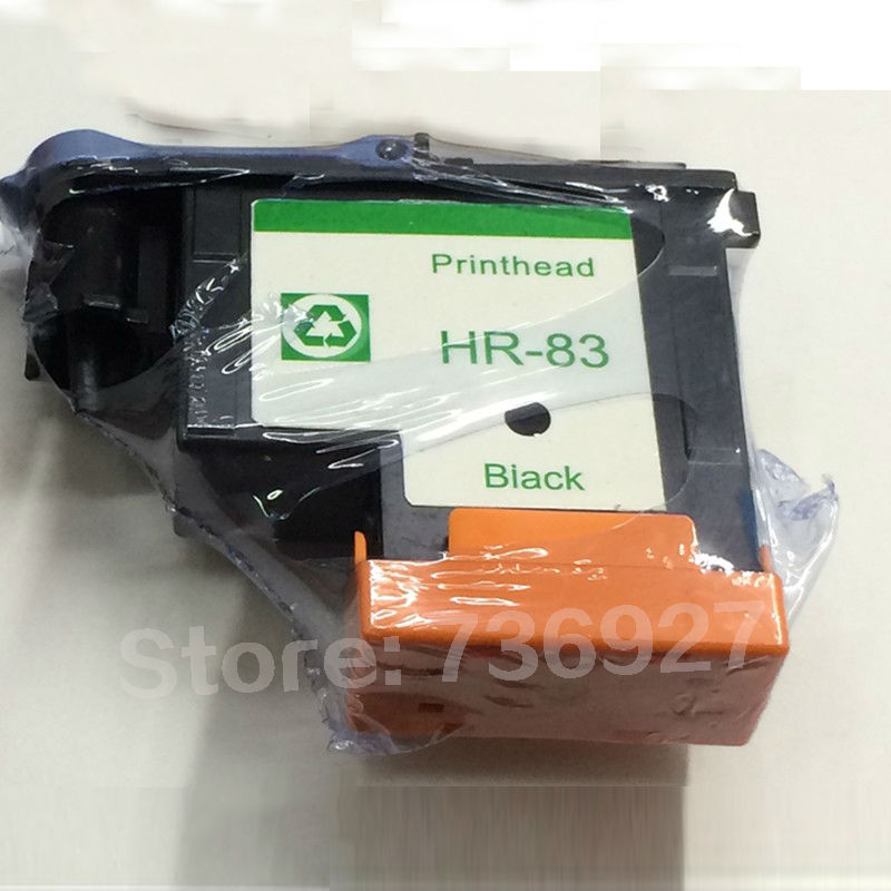 цены 1X Black remanufactured Printhead For HP 83 For Designjet 5000  5500  inkjet printer for HP83 UV Ink Cartridge Head  C4960A