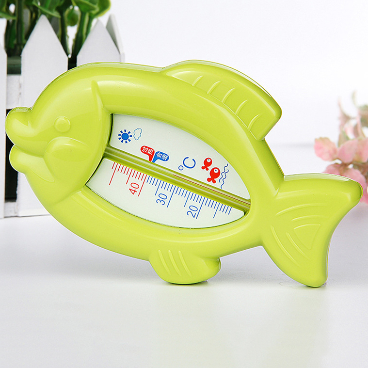 1Pc Cartoon Baby Water Thermometer Baby Bathing Fish Bear Temperature Infants Toddler Shower Toys Kids Thermometer for Baby Care