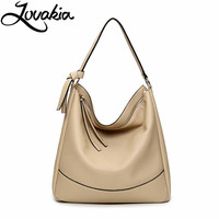 LOVAKIA Leather Bag Luxury Pu Women Shoulder Bags Handbag Brand Designer Bags Fashion Ladies Hand Bag