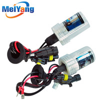 6pcs H3 HID Xenon Pure White Replacement Car 6000K 35W Headlight Headlamp Bulb Lamp parking Car Light Source цены