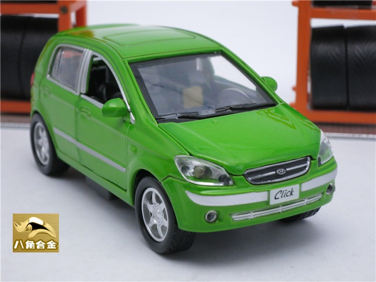 1 32 Hyundai Getz Diecast Metal Model Car Toy Pull Back Collection