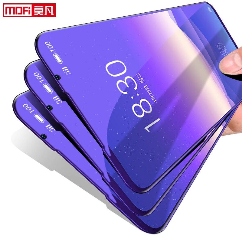 Meizu 16S gehärtetem glas voll abdeckung volle kleber meizu 16s screen protector ultra dünne 9H 2.5D gebogene rand-zu-rand Abdeckung film mofi