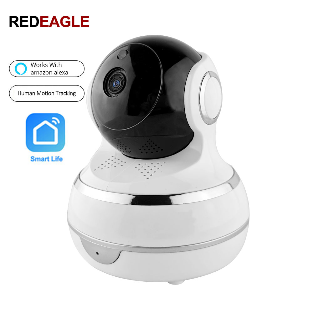 US $34 0 32% OFF|2MP 1080P IP Wifi Security Camera Human Intelligent Auto  Tracking Recording Smart Life Support Amazon Alexa Echo Google Home-in