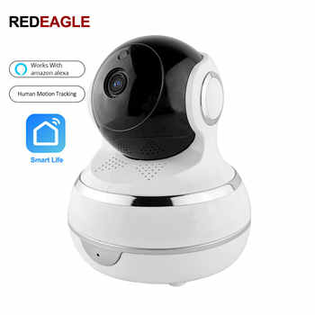 2MP 1080P IP Wifi Security Camera Human Intelligent Auto Tracking Recording Smart Life Support Amazon Alexa Echo Google Home - DISCOUNT ITEM  31% OFF All Category