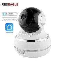 2MP 1080P IP واي فاي كاميرا الأمن الإنسان الذكي تتبع السيارات تسجيل الحياة الذكية دعم الأمازون اليكسا صدى جوجل المنزل