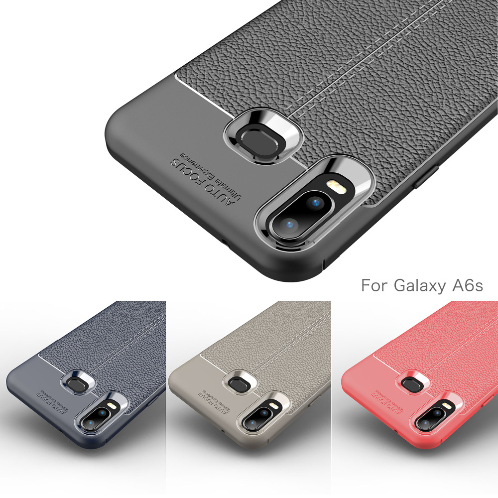 Phone-Cases Coque-Cover Etui Protective Back Carbon-Fiber Galaxy Samsung For Silicone