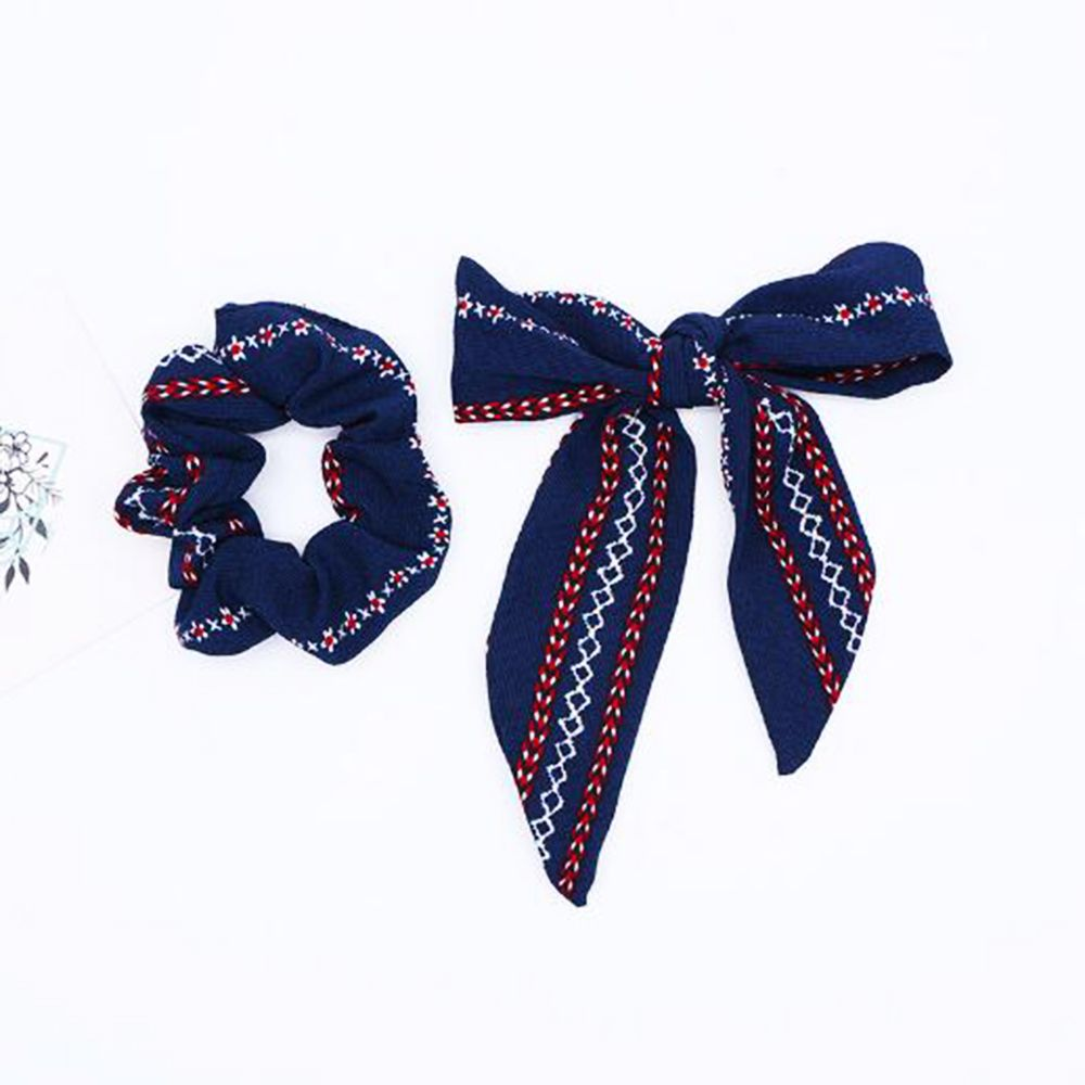 Fashion Bow Hair Ring Ribbon Hair Bands Ponytail Holder Hair Tie Rope Headwear Hair Styling Tools For Women Girls