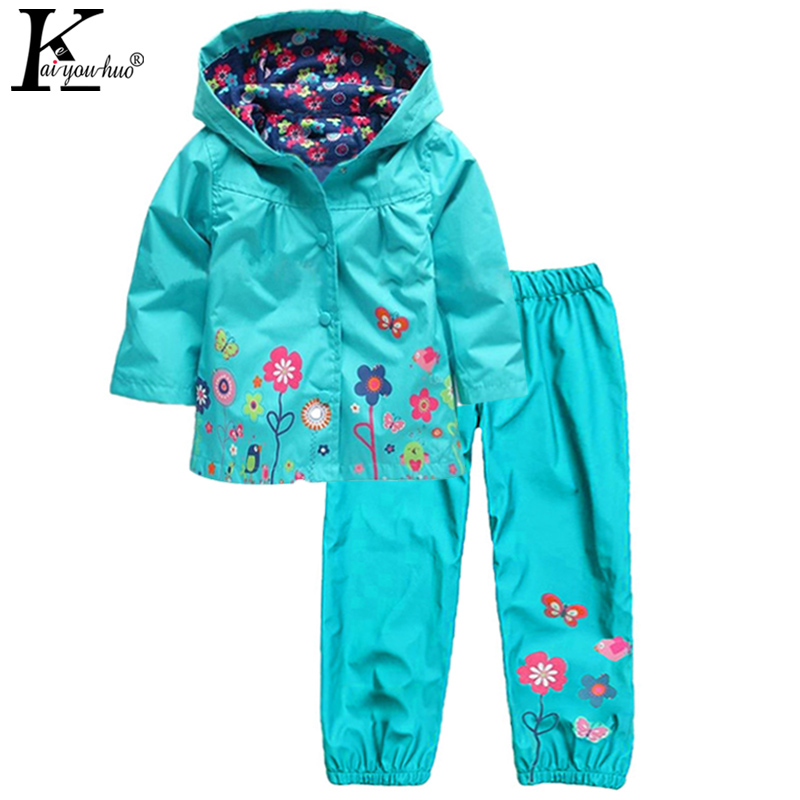 Girls Clothes Sets Sprot Suit 2017 Children Clothing Sets Spring Hooded Baby Boys Clothes Outfit Suit Costume For Kids Raincoat 2015 new arrive super league christmas outfit pajamas for boys kids children suit st 004